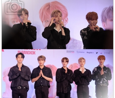 Press Conference AB6IX 1st Fanmeeting 1st ABNEW in BANGKOK