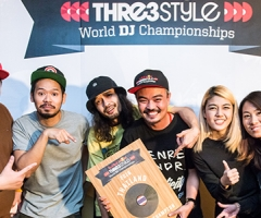 """DJ Bomber Selecta"" คว้าแชมป์ Red Bull Thre3Style Thailand 2016"