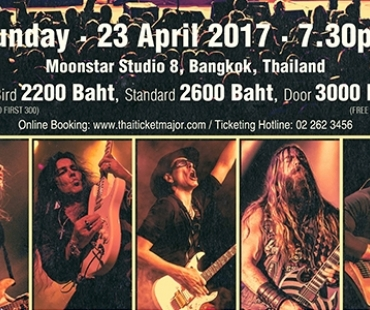 GENERATION AXE A Night of Guitars Asia Tour 2017 Live Concert in Bangkok