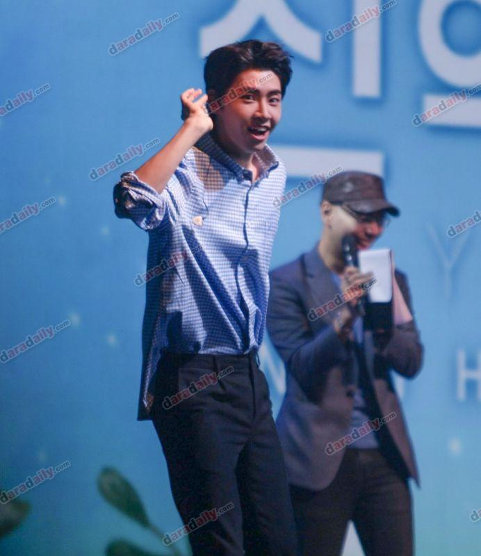 Lee Jin Hyuk มีตติ้งเดี่ยว ครั้งแรก เบบี้ซัน