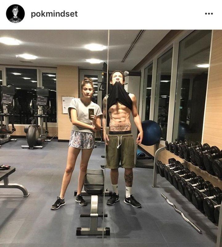 เขิน คู่หวาน แฟน คู่รัก ออกกำลังกาย ฟิตหุ่น กระชับรัก สวีท ฟิตเนส ยิม หุ่นดี รูปร่าง โสด คู่จิ้น