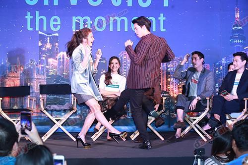 พีชพชร รักของเรา The Moment ยกระดับ อาชีพการแสดง นักแสดงวัยรุ่น ภาพยนตร์รัก