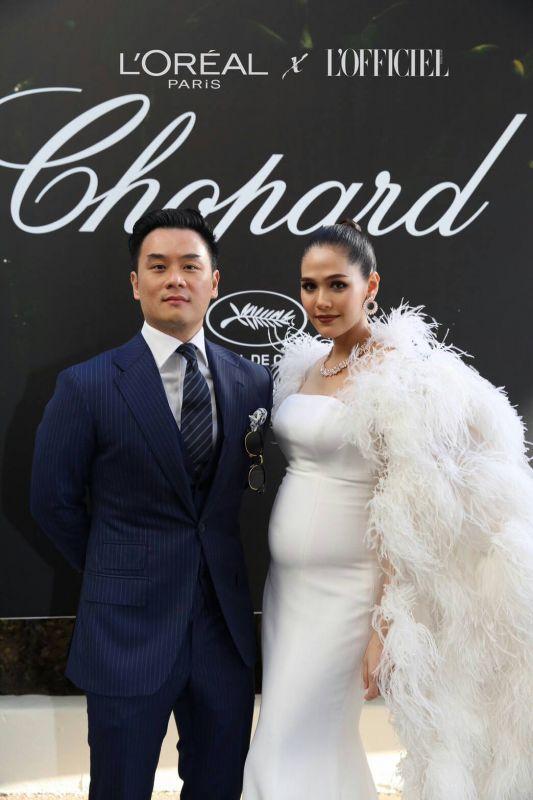 ชมพู่ ชม ท้อง คานส์ 2017 Cannes