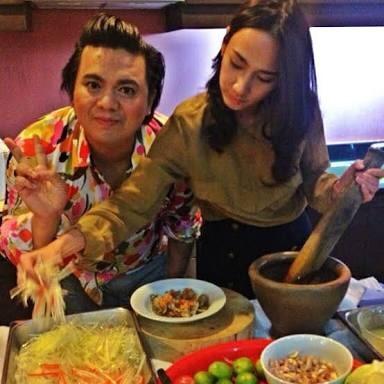 ต่อมหิว ดาราดัง ส้มตำ แซบนัว อาหารประจำชาติ บันเทิง ดารา นักแสดง เมนูโปรด