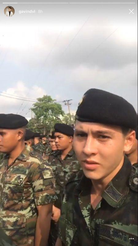 ดาราหนุ่ม หนุ่มหล่อ ปลดประจำการ  ชาโน เอี๊ยง หลุยส์ กวิน พลทหาร
