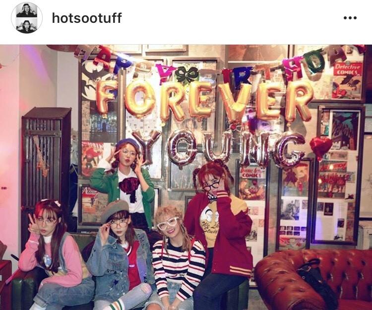 #foreverYOUNG #HOTSOOTUFFDAY คัมแบ็ค Girls Generation ปาร์ตี้วันเกิด ซูยอง foreverYOUNG
