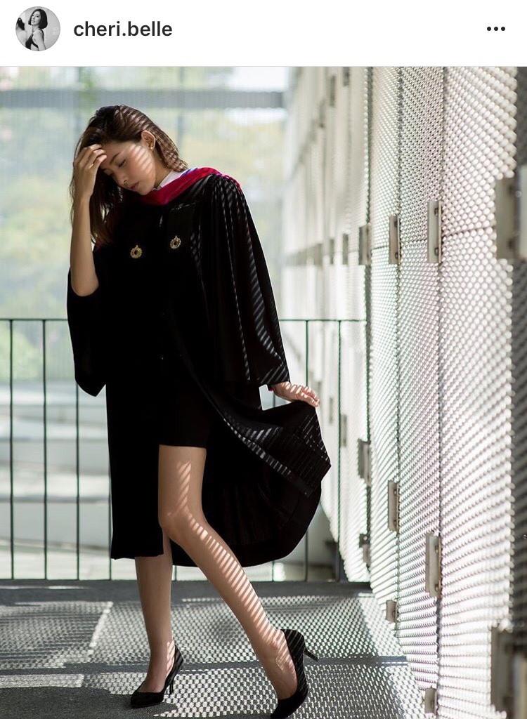 เฌอเบลล์ ชุดครุย เรียนจบ คว้าปริญญาตรี มหาวิทยาลัยรังสิต