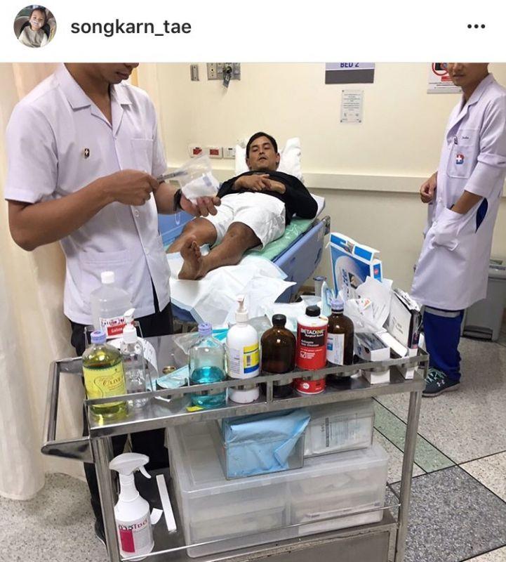 แอฟ อัพเดท อาการ สามีรถเครน เหล็กแทง ขา อุบัติเหตุ โบนันซ่า เขาใหญ่ โรงพยาบาล น้องปีใหม่ ข่าว วันนี้