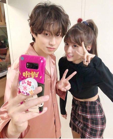 Kimheechul เดท Momo SJ twice