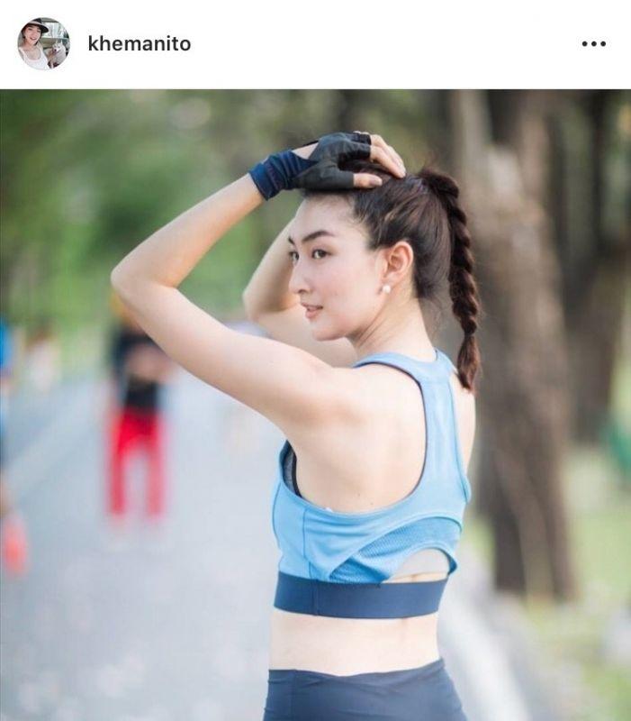 ดารา ดาราสาว นางเอก สุขภาพดี ออกกำลังกาย