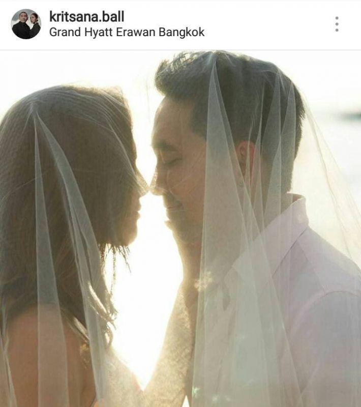 อุ้ม ลักขณา บอล กฤษณะ แต่งงาน งานแต่ง วิวาห์ ความรัก ท้อง