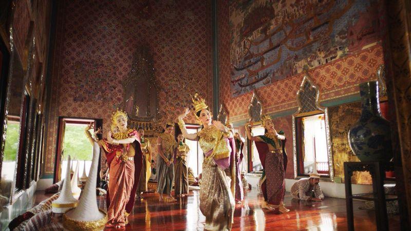 ศรีอโยธยา ภาค ๒ นุ่น วรนุช ภิรมย์ภักดี งานแสดง รำ
