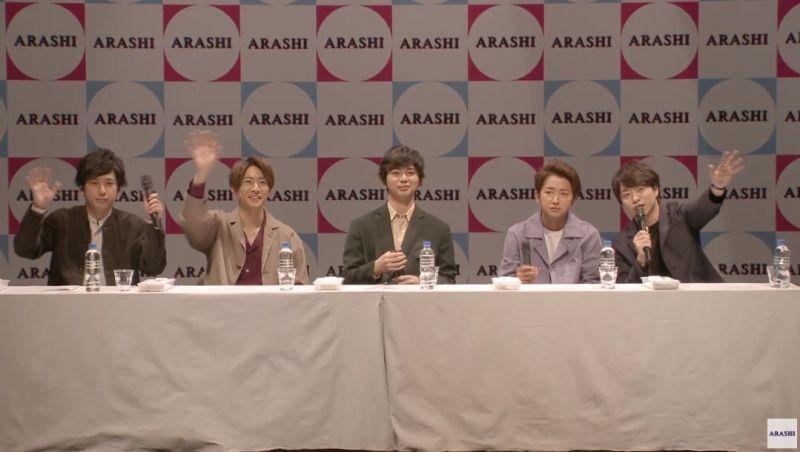 บอยแบนด์ ประเทศญี่ปุ่น Arashi มาเยือนไทย