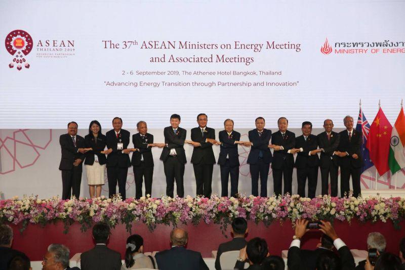 ประชุม รัฐมนตรี อาเซียน พลังงาน  พลเอกประยุทธ์ นายก