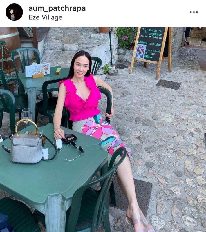 อั้ม ไฮโซพก ความรัก คบ แฟน เที่ยว ต่างประเทศ ฝรั่งเศส
