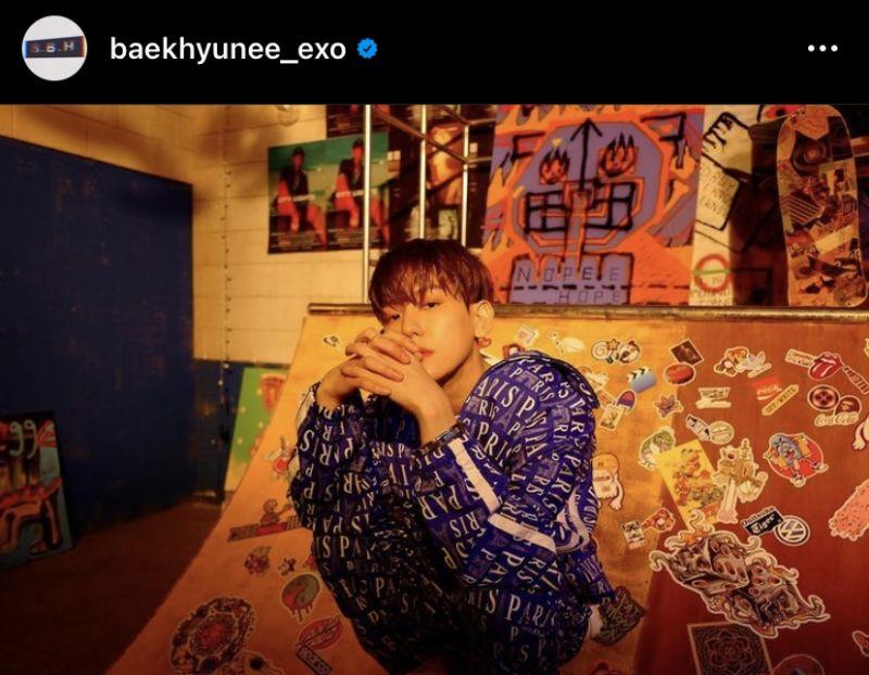 SM Entertainment แบคฮยอน EXO