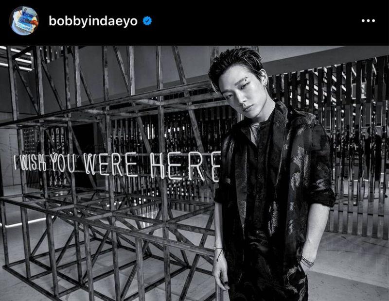 บ๊อบบี้ BOBBY iKON YG Entertainment K-POP