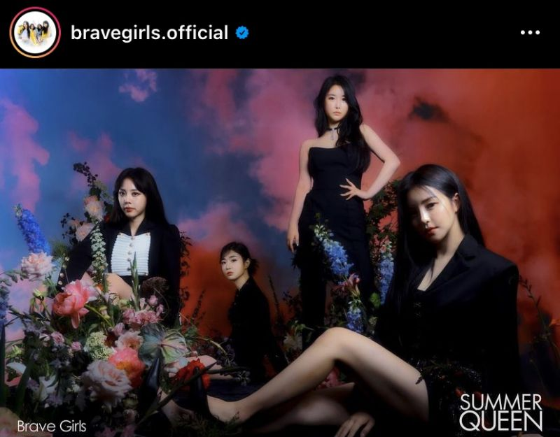 Brave Girls Summer Queen Chi Mat Ba Ram คัมแบ็ค