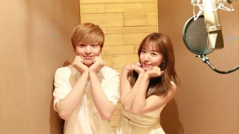 Sungjae วง BTOB และ Namjoo วง Apink