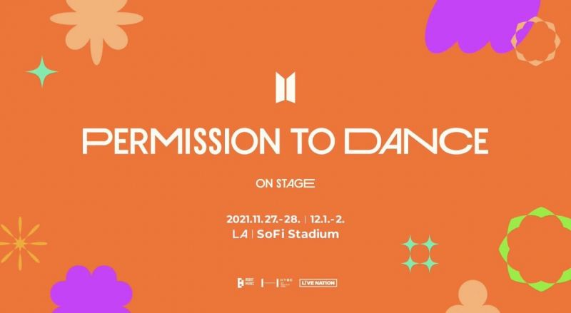 BTS Permission To Dance On Stage ลอสแองเจลิส