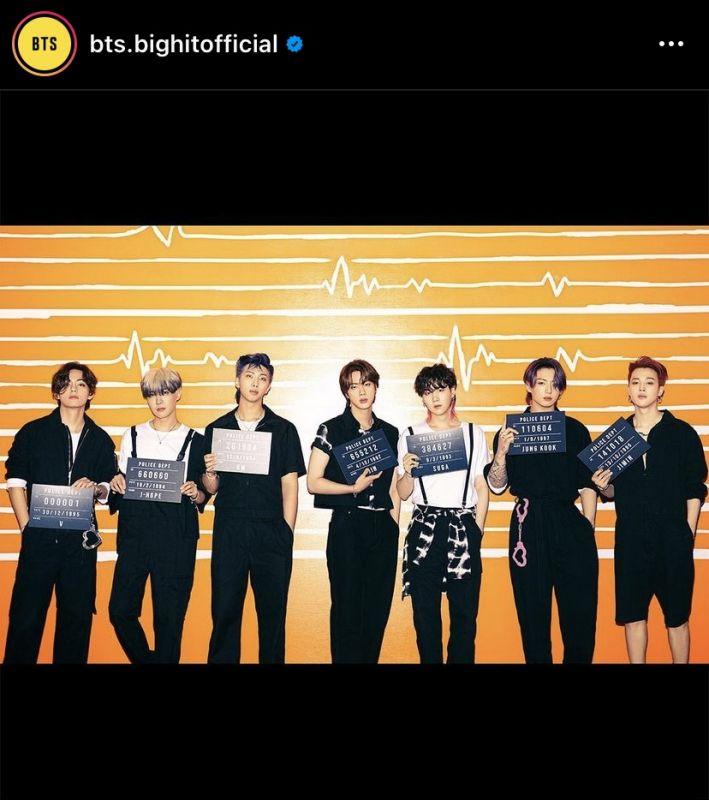 BTS Boy With Luv DNA K-POP บอยแบนด์ ไอดอลเกาหลี