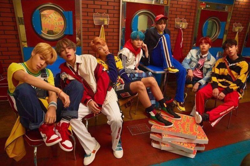 BTS IDOL K-POP บอยแบนด์ ไอดอลเกาหลี