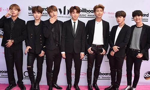 ไอดอล เกาหลี BTS บีทีเอส รางวัล Top Social Artist BillBoard Music Awards #BTSBBMAs #BBMAs ดารา ข่าว วันนี้