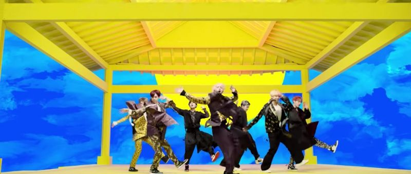 BTS IDOL kpop คัมแบ็ค