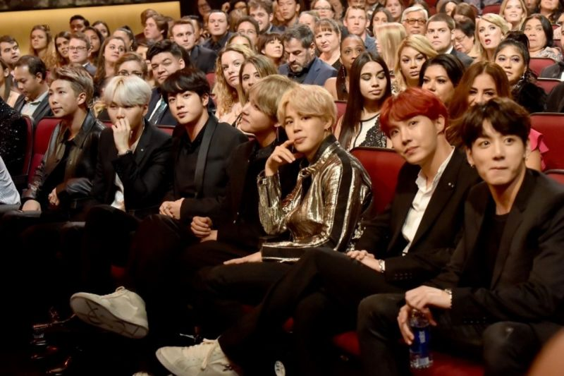 BTS งาน AMAs