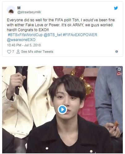 EXO-L ARMY Fake Love เพลง บอลโลก world cup 2018