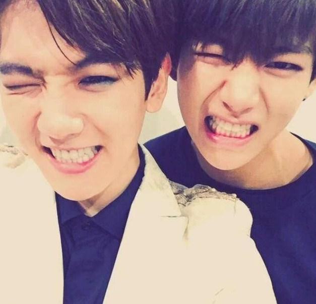 Baekhyun (EXO) และ V (BTS)