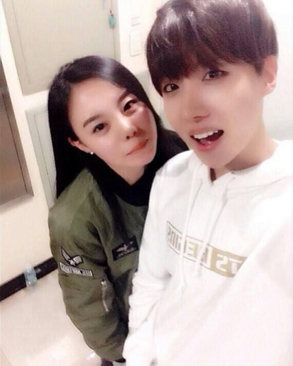 Jhope BTS พี่สาว ครอบครัว