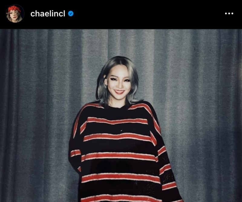 CL 2NE1 Very Cherry คัมแบ็ค ไอดอลเกาหลี K-POP