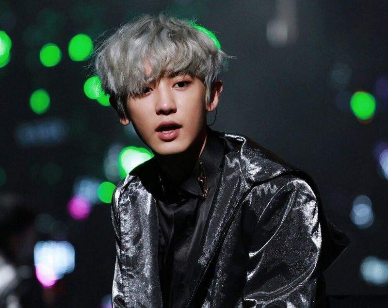 Chanyeol EXO ทำผม เฉดสี