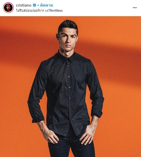 สวัสดีบอลโลก Cristiano Ronaldoโปรตุเกส