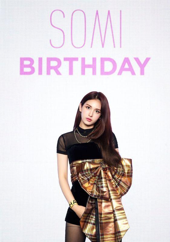 Jeon Somi  เดบิวท์ BIRTHDAY kpop