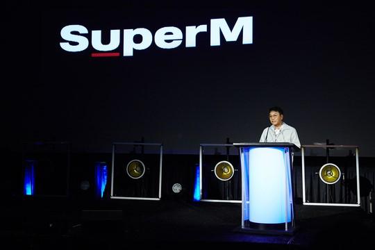 superM SM บอยแบนด์ kpop idol