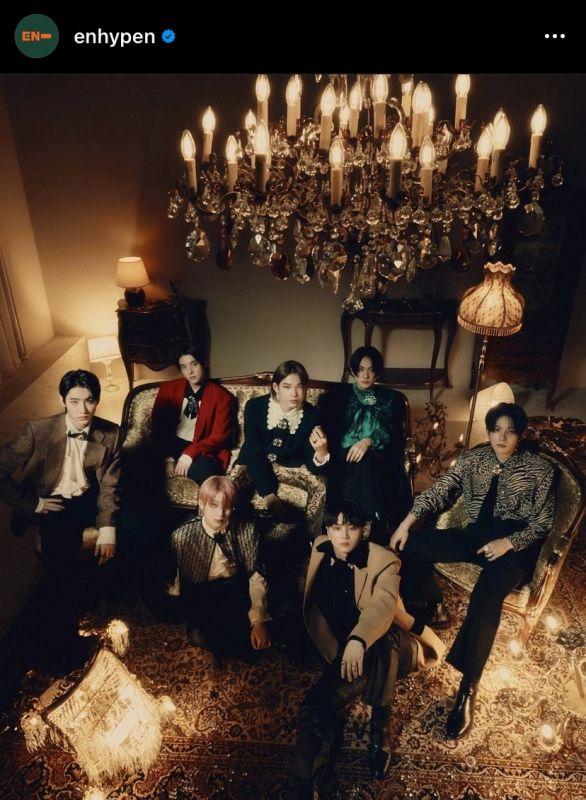 ENHYPEN คัมแบ็ค K-POP บอยแบนด์ ไอดอลเกาหลี