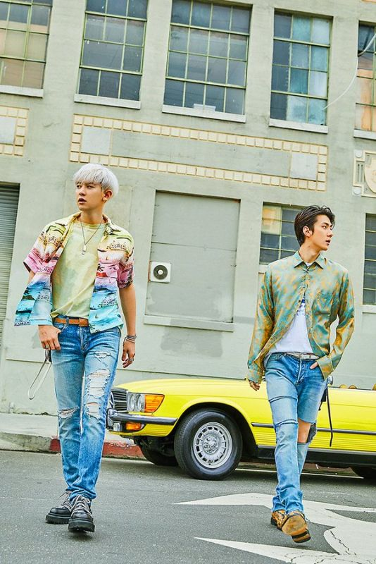 SEHUN CHANYEOL EXO_SC EXO weareoneEXO WhatALife