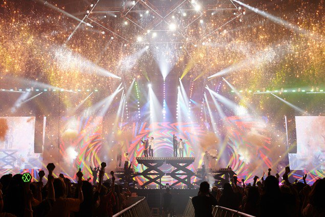 EXO บัตร คอนเสิร์ต เหมา