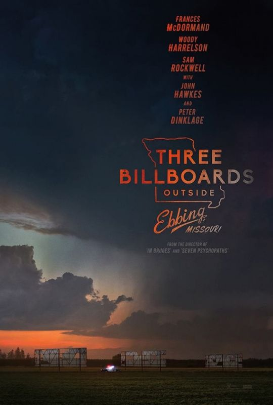 Frances McDormand จาก THREE BILLBOARDS OUTSIDE EBBING, MISSOURI