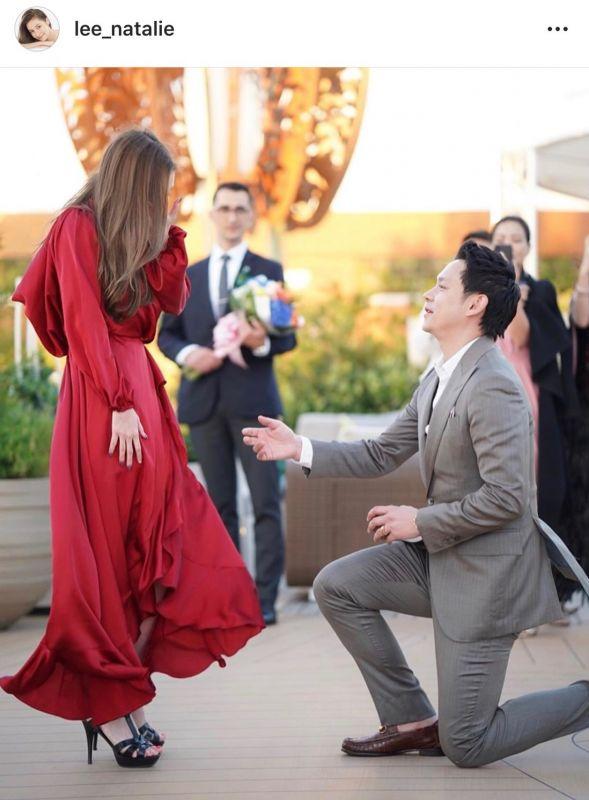 ฟลุค คู่รัก นาตาลี ขอแต่งงาน แต่งงาน