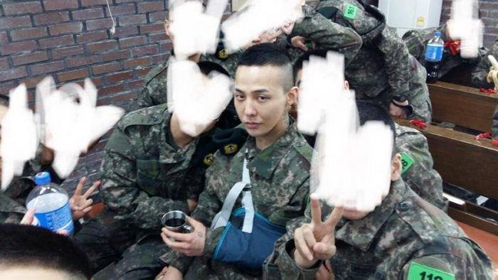 G-dragon เกณฑ์ ทหาร สิทธิ พิเศษ