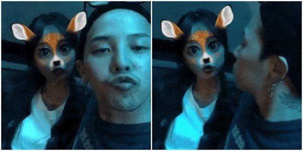 G-DRAGON สวีท จูยอน แฟน ภาพหลุด