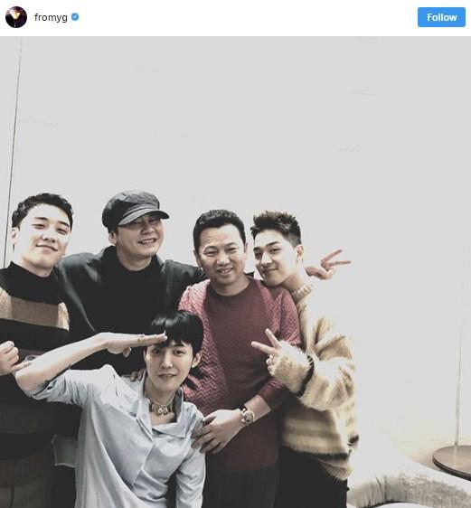 G-Dragon เข้ากรม ไอดอลเกาหลี