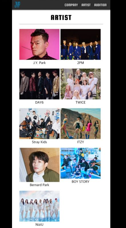 GOT7 อากาเซ JYP Entertainment