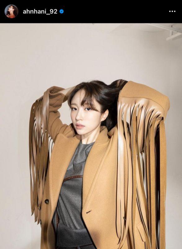 ฮานิ EXID Sublime Artist Agency COVID-19