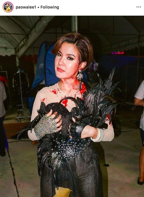 แฟชั่น วันฮาโลวีน Halloween ผี แต่งตัวผี