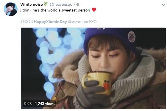 HappyXiuminDay Xiumin EXO