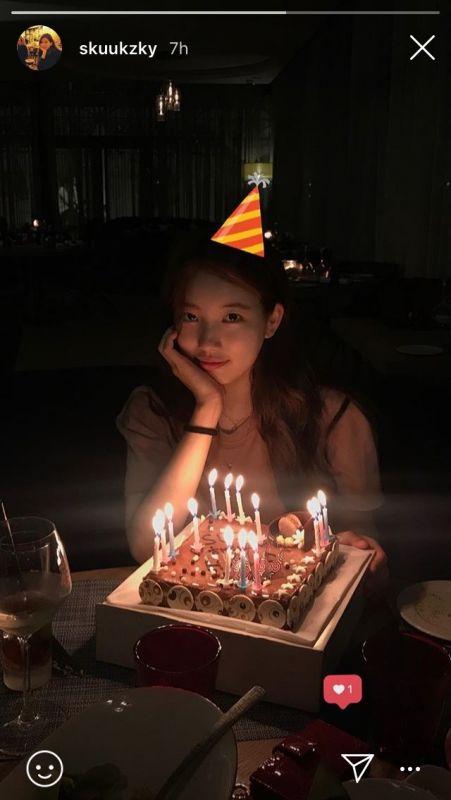#HappySuzyDay วันเกิด Suzy
